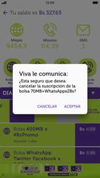 Suscripción y desuscripción de una bolsa de MB - iOS VIVA APP - Passo 14