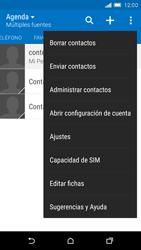 Sincronizar contactos con una cuenta Gmail - HTC One M9 - Passo 7