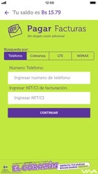 Pago de facturas con tarjeta de crédito/débito - iOS VIVA APP - Passo 6
