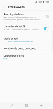 Configurar el equipo para navegar en modo de red LTE - Samsung Galaxy Note 8 - Passo 8