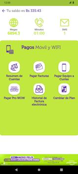 Pago de facturas con tarjeta de crédito/débito - Android VIVA APP - Passo 4