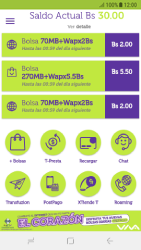 Pago de facturas con tarjeta de crédito/débito - Android VIVA APP - Passo 3