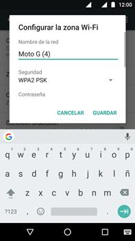 Configurar para compartir el uso de internet - Motorola Moto G4 - Passo 6