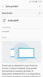 Configurar para compartir el uso de internet - Samsung Galaxy A3 2017 (A320) - Passo 6