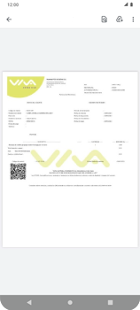Recarga con tarjeta de crédito/débito - Android VIVA APP - Passo 14