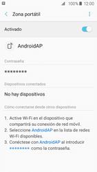 Configurar para compartir el uso de internet - Samsung Galaxy J2 Prime (2016) - Passo 12