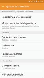 Sincronizar contactos con una cuenta Gmail - Samsung Galaxy J3 2016 (J320) - Passo 6