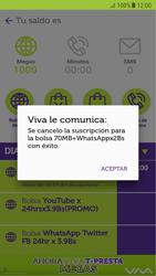 Suscripción y desuscripción de una bolsa de MB - Android VIVA APP - Passo 15