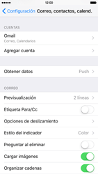 Sincronizar contactos con una cuenta Gmail - Apple iPhone 6s (iOS9) - Passo 4