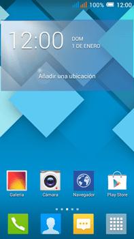 Sincronizar contactos con una cuenta Gmail - Alcatel Pop C9 - Passo 1