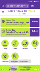 Usa VIVA APP sin que ocupe espacio en tu teléfono - Android VIVA APP - Passo 16
