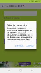 Recarga con tarjeta de crédito/débito - Android VIVA APP - Passo 8