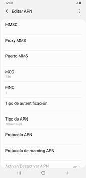 Configurar internet - Samsung Galaxy A9 (2018) - Passo 15