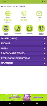 Suscripción y desuscripción de una bolsa de MB - Android VIVA APP - Passo 9