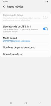 Configurar el equipo para navegar en modo de red LTE - Samsung Galaxy A9 (2018) - Passo 8