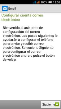 Configurar el correo electrónico - Alcatel Pop C9 - Passo 4