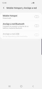 Configurar para compartir el uso de internet - Samsung Galaxy S10e - Passo 6