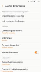 Sincronizar contactos con una cuenta Gmail - Samsung Galaxy A3 2017 (A320) - Passo 8