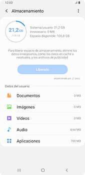 Liberar espacio en el teléfono - Samsung Galaxy A9 (2018) - Passo 23