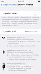 Configurar para compartir el uso de internet - Apple iPhone 6s (iOS9) - Passo 11