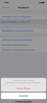 Restaura la configuración de fábrica - Apple iPhone 11 - Passo 7