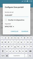 Configurar para compartir el uso de internet - Samsung Galaxy J5 2016 (J510) - Passo 8