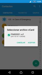 Sincronizar contactos con una cuenta Gmail - Sony Xperia Z5 Compact - Passo 15
