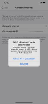 Configurar para compartir el uso de internet - Apple iPhone 11 - Passo 6