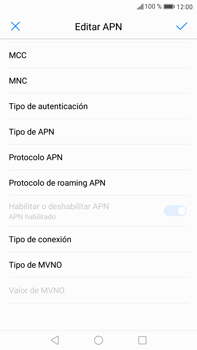 Configurar internet - Huawei Mate 9 - Passo 14