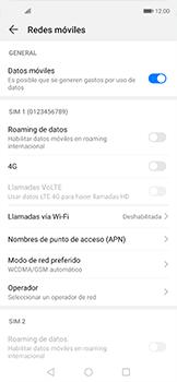 Configurar el equipo para navegar en modo de red LTE - Huawei Nova 5T - Passo 5