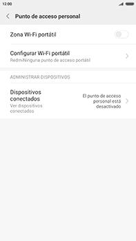 Configurar para compartir el uso de internet - Xiaomi Redmi Note 4 - Passo 4