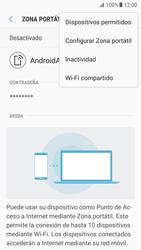 Configurar para compartir el uso de internet - Samsung Galaxy S7 (G930) - Passo 8