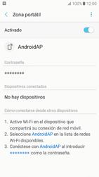 Configurar para compartir el uso de internet - Samsung Galaxy A5 2017 (A520) - Passo 12