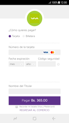Pago de facturas con tarjeta de crédito/débito - Android VIVA APP - Passo 9