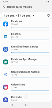 Verificar el uso de datos por apps - Samsung Galaxy A9 (2018) - Passo 7