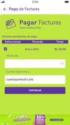 Pago de facturas con tarjeta de crédito/débito - iOS VIVA APP MÓVIL - Passo 8