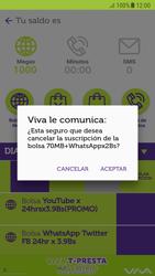 Suscripción y desuscripción de una bolsa de MB - Android VIVA APP - Passo 14