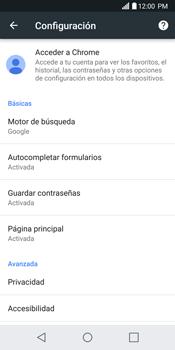 Configurar internet - LG G6 - Passo 24