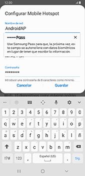 Configurar para compartir el uso de internet - Samsung Galaxy J8 - Passo 9