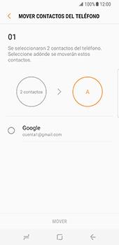 Sincronizar contactos con una cuenta Gmail - Samsung Galaxy S8 (G950U) - Passo 8
