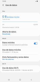 Verificar el uso de datos por apps - Samsung Galaxy A9 (2018) - Passo 6