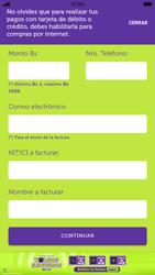 Recarga con tarjeta de crédito/débito - iOS VIVA APP MÓVIL - Passo 7