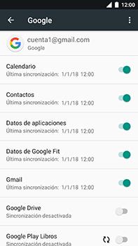 Sincronizar contactos con una cuenta Gmail - Xiaomi Mi A1 - Passo 8