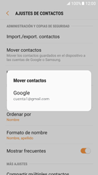 Sincronizar contactos con una cuenta Gmail - Samsung Galaxy S7 (G930) - Passo 7