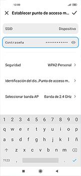 Configurar para compartir el uso de internet - Xiaomi Mi 10 5G - Passo 8