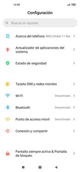 Configurar internet - Xiaomi Mi 10 5G - Passo 3