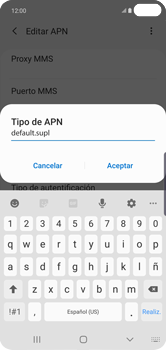 Configurar internet - Samsung Galaxy S10+ - Passo 14