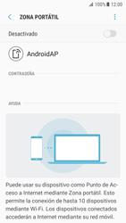 Configurar para compartir el uso de internet - Samsung Galaxy S7 (G930) - Passo 11