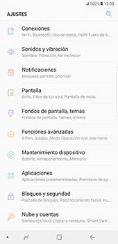 Configurar para compartir el uso de internet - Samsung Galaxy Note 8 - Passo 4