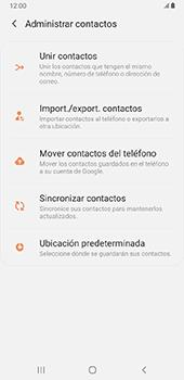 Sincronizar contactos con una cuenta Gmail - Samsung Galaxy J8 - Passo 6